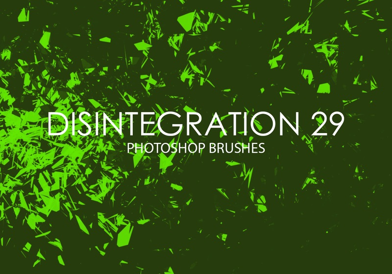 Free Disintegration Photoshop Brushes 29 Photoshop brush