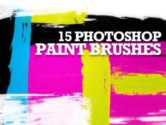 15 Photoshop Paint Brushes Photoshop brush