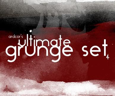 Ultimate Grunge Set Photoshop brush