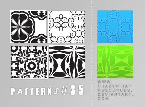 Patterns .35 Photoshop brush