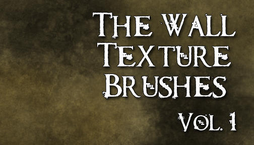 The Wall Texture Brushes Vol 1 Photoshop brush