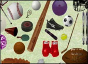 Sports Objects Photoshop brush