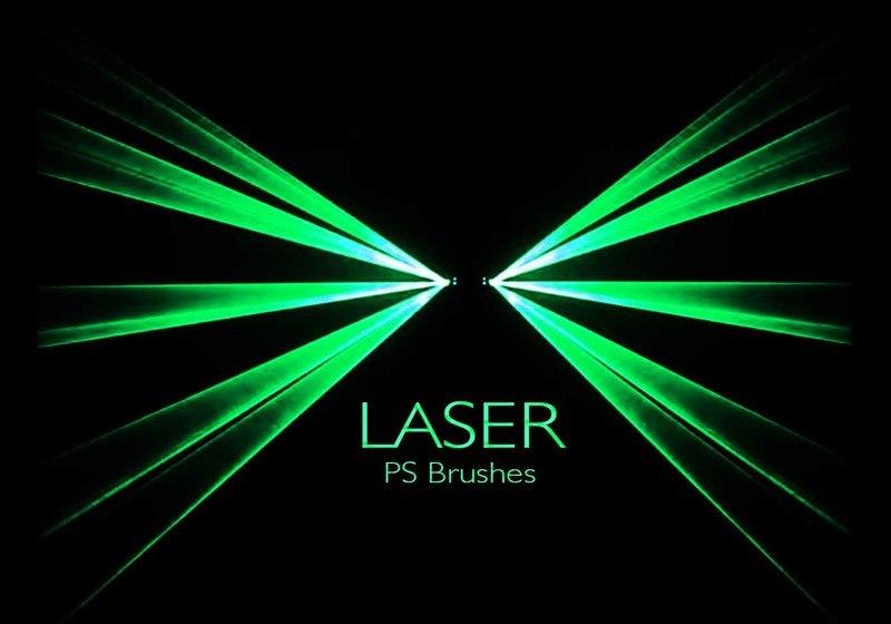 20 Laser PS Brushes abr. vol.8 Photoshop brush