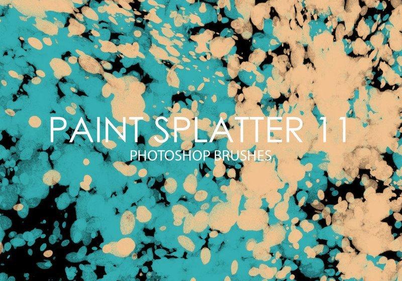 Free Paint Splatter Photoshop Brushes 11 Photoshop brush