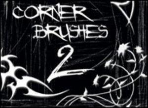 Corner Brushes 2 Photoshop brush