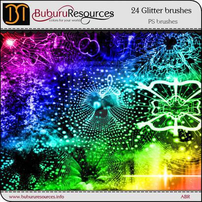 Glitter Shine Brushes Photoshop brush
