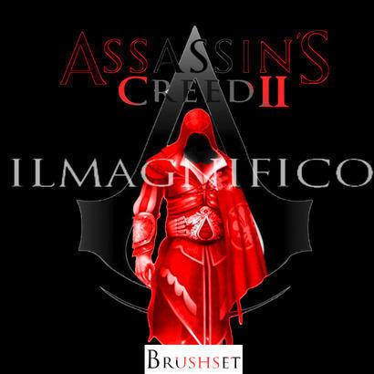 Assassins creed II Brushes Photoshop brush