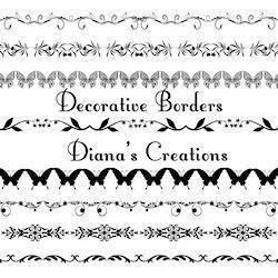Decorative Borders Photoshop brush