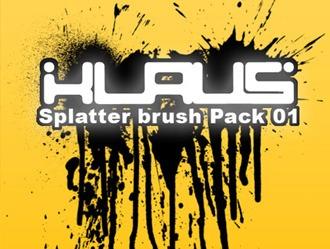 Splatter Brushes Photoshop brush