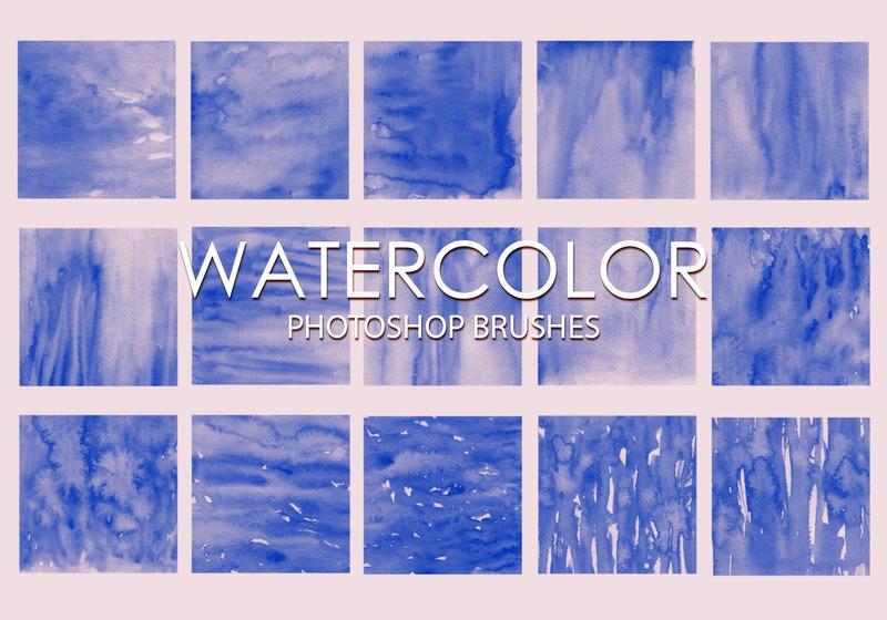Free Watercolor Photoshop Brushes 2 Photoshop brush