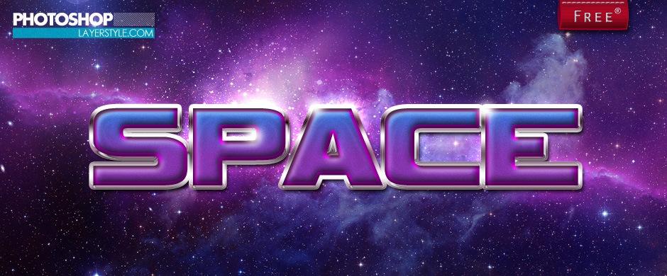 Space Style Photoshop brush