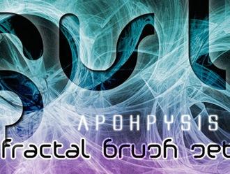 Apophysis Fractal Brush Set Photoshop brush