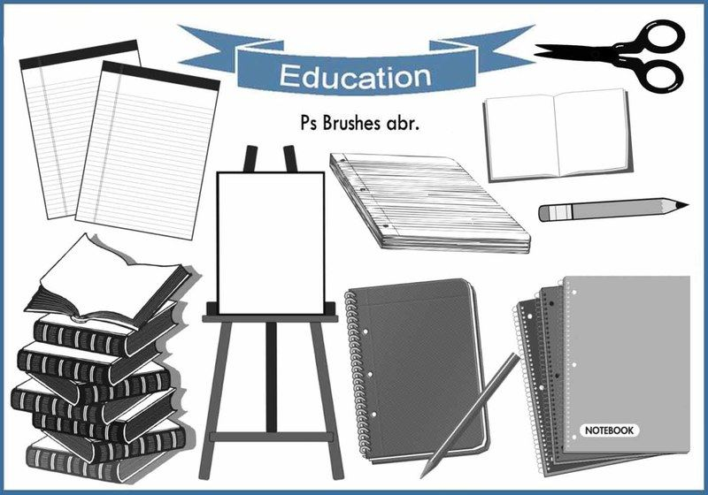 20 Education Ps Brushes abr. vol.11 Photoshop brush