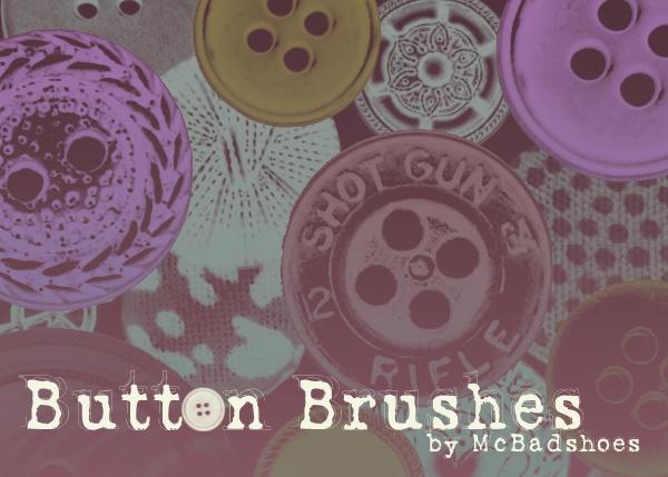 Button Brushes Photoshop brush