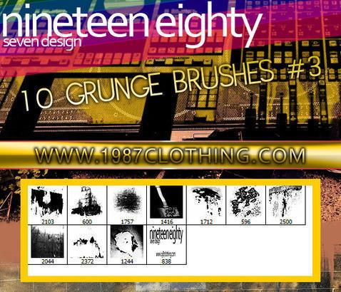 Grunge Set 3 Photoshop brush