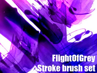 Stroke Brush Set Photoshop brush