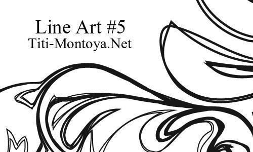 Line Art 5 Photoshop brush