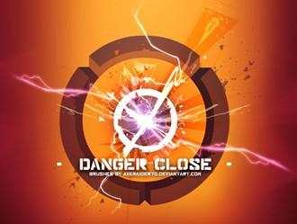 Danger Close Photoshop brush