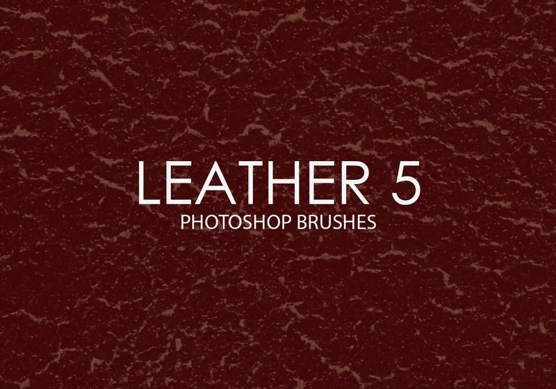 Free Leather Photoshop Brushes 5 Photoshop brush