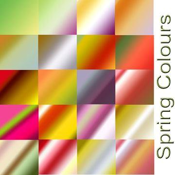 Spring Colours Photoshop brush