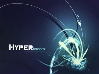 Hyper Brushes Photoshop brush