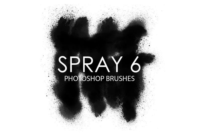 Free Spray Photoshop Brushes 6 Photoshop brush