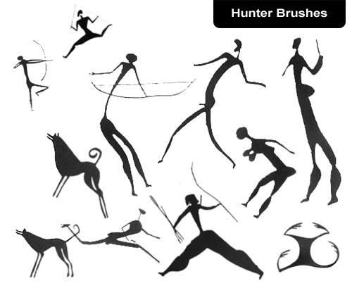 Hunter Brush Set Photoshop brush