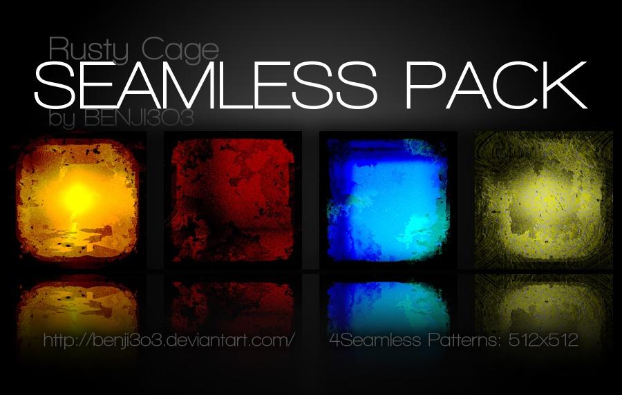 Seamless - Rusty Cage Photoshop brush