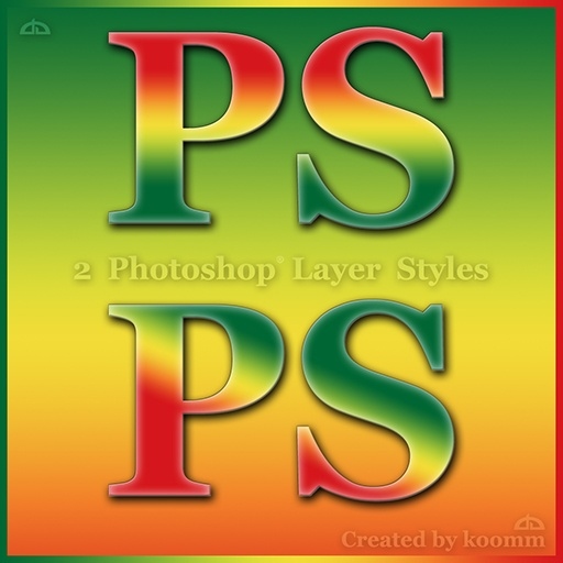Rasta / Tropical Photoshop Styles Photoshop brush