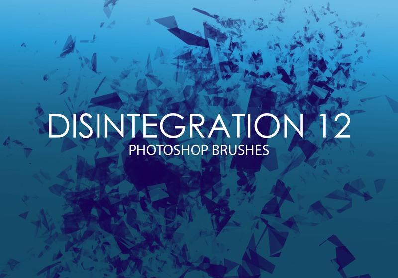 Free Disintegration Photoshop Brushes 12 Photoshop brush