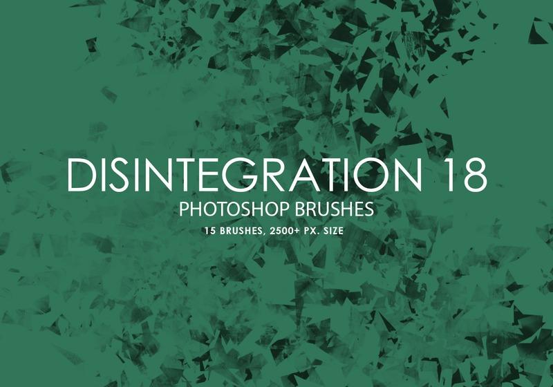 Free Disintegration Photoshop Brushes 18 Photoshop brush
