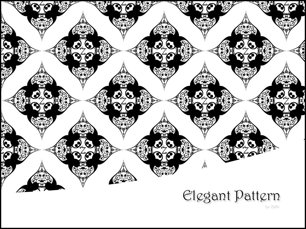 Elegant Pattern Photoshop brush