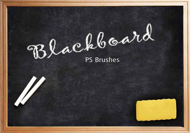 20 Blackboard Ps Brushes abr. vol.4 Photoshop brush