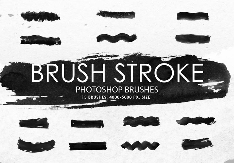 Free Brush Stroke Photoshop Brushes Photoshop brush