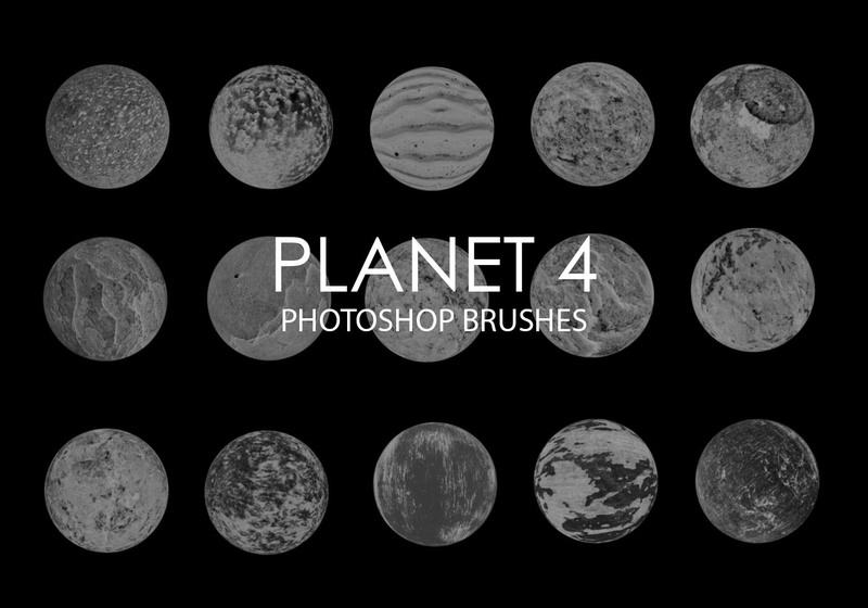 Free Abstract Planet Photoshop Brushes 4 Photoshop brush