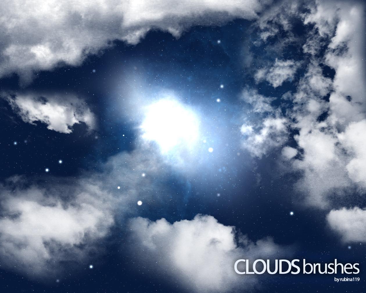 Clouds Brushes Photoshop brush