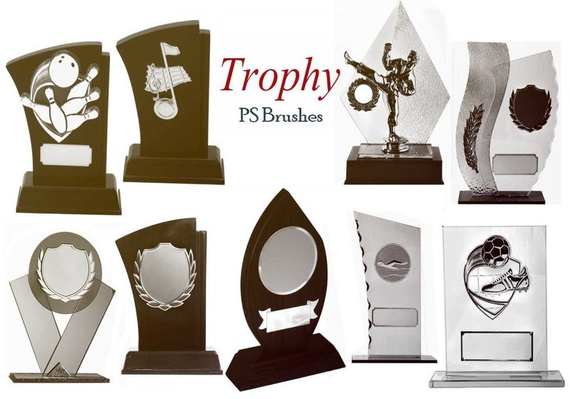 20 Trophy PS Brushes abr.vol.5 Photoshop brush