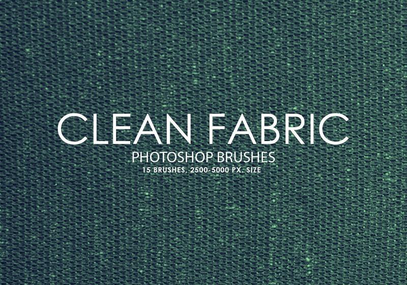 Free Clean Fabric Photoshop Brushes 2 Photoshop brush