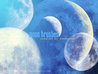Moon Brushes Photoshop brush