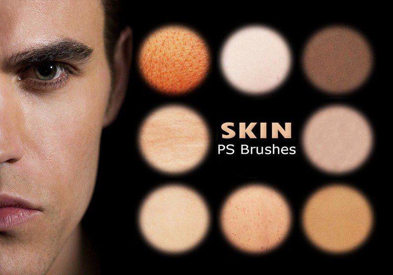 20 Human Skin PS Brushes abr. Vol. 5 Photoshop brush