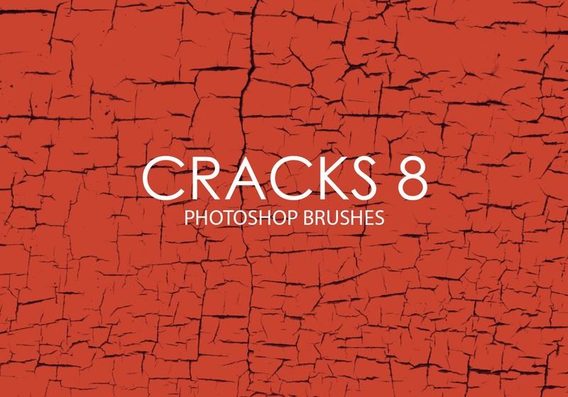 Free Cracks Photoshop Brushes 8 Photoshop brush