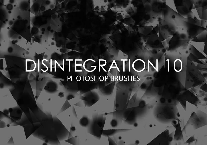 Free Disintegration Photoshop Brushes 10 Photoshop brush
