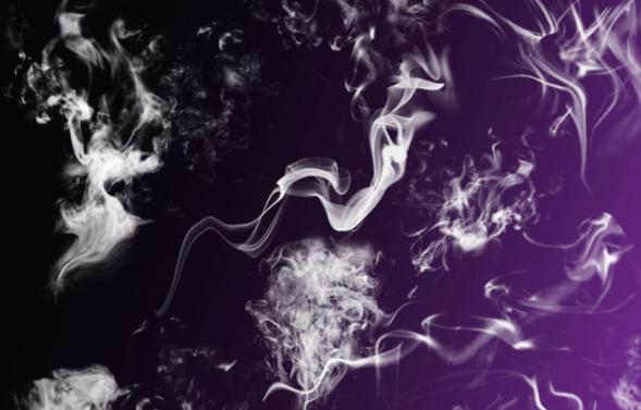 25 Hi Res Smoke Brushes Photoshop brush
