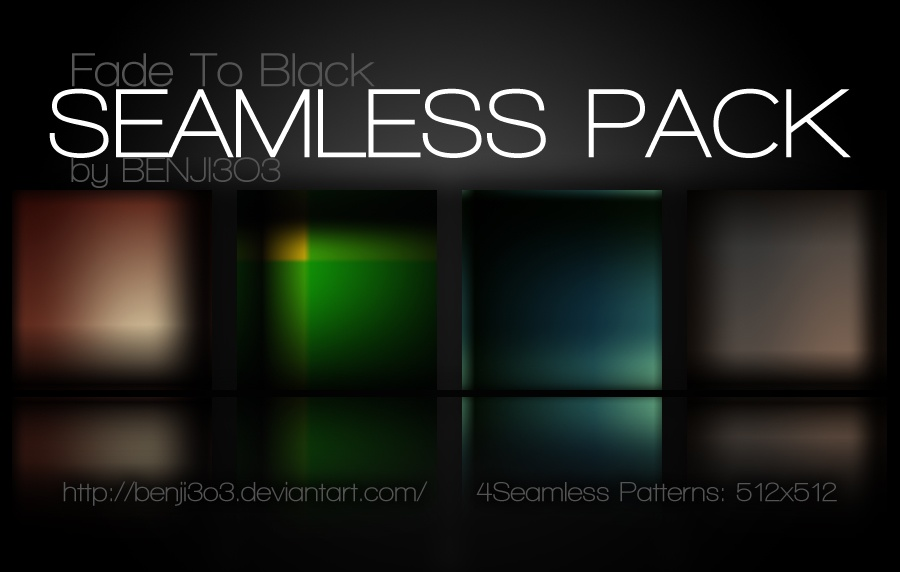 Seamless - Fade To Black Photoshop brush