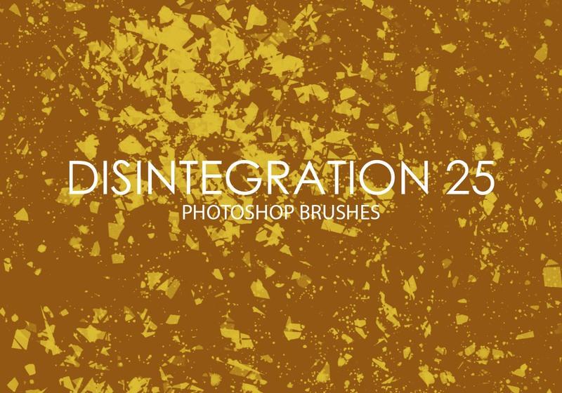Free Disintegration Photoshop Brushes 25 Photoshop brush