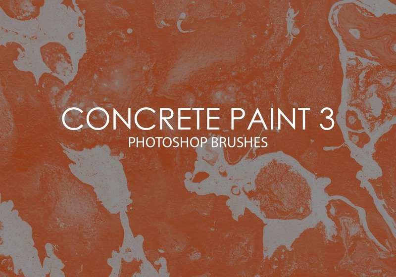 Free Concrete Paint Photoshop Brushes 3 Photoshop brush