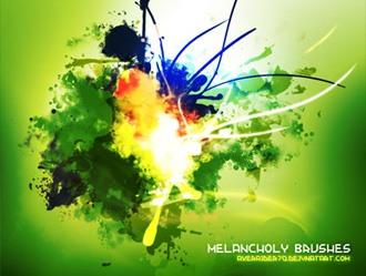 Melancholy Brushes Photoshop brush