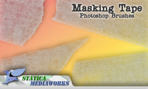 Masking Tape  Photoshop brush