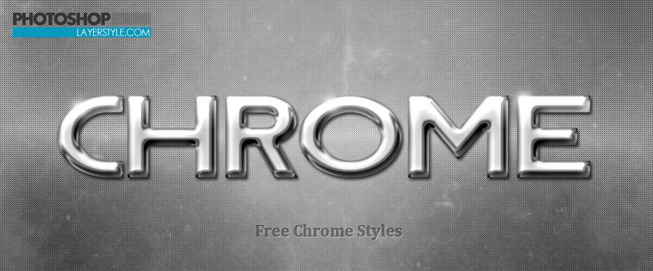 Chrome Styles Photoshop brush