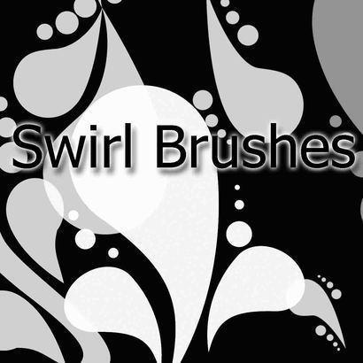 Swirl Brush Pack Photoshop brush
